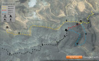 Wadi Al Nakhr Aerial view map