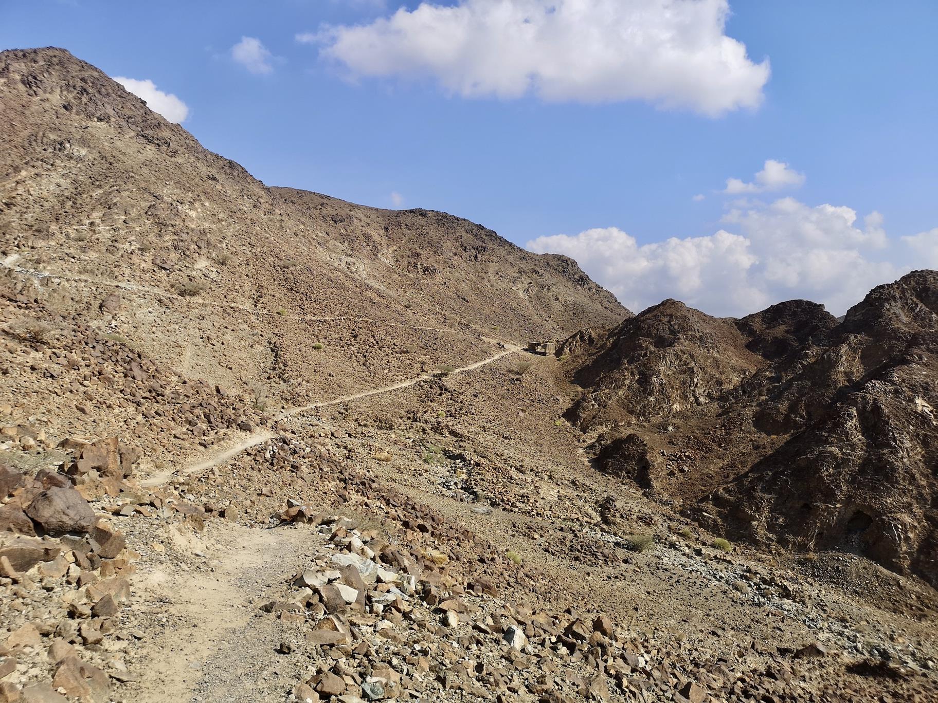 Wadi Shawka Route