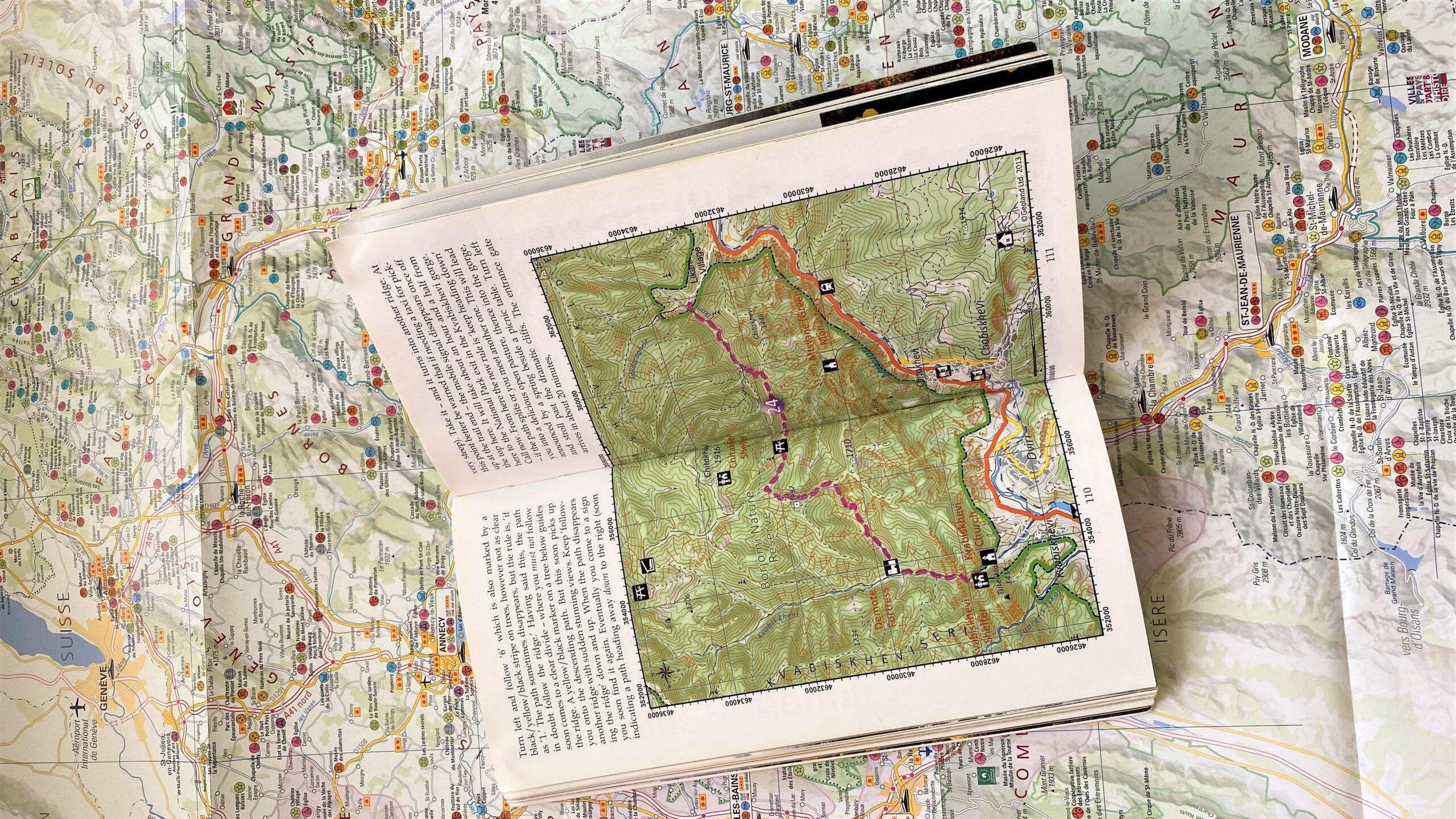 A pic of a map, to show that I know how to read maps