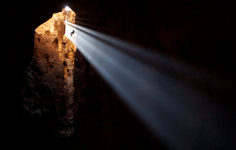 Majlis Al Jinn, Salmah Plateau, Oman on January 20, 2012. Christopher Pike