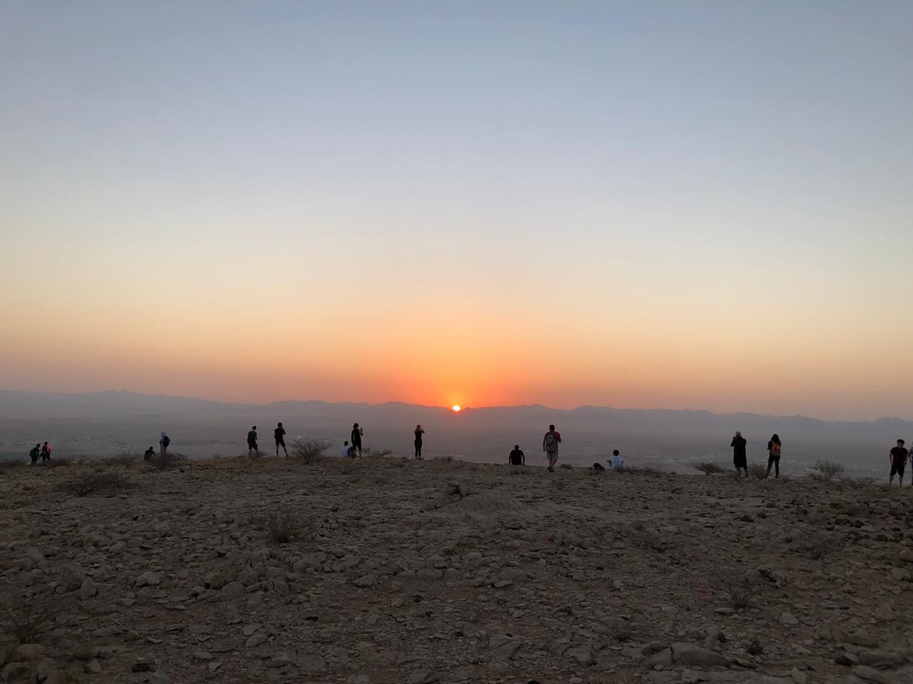 Jebel Mleiha Hike - Fossil Rock