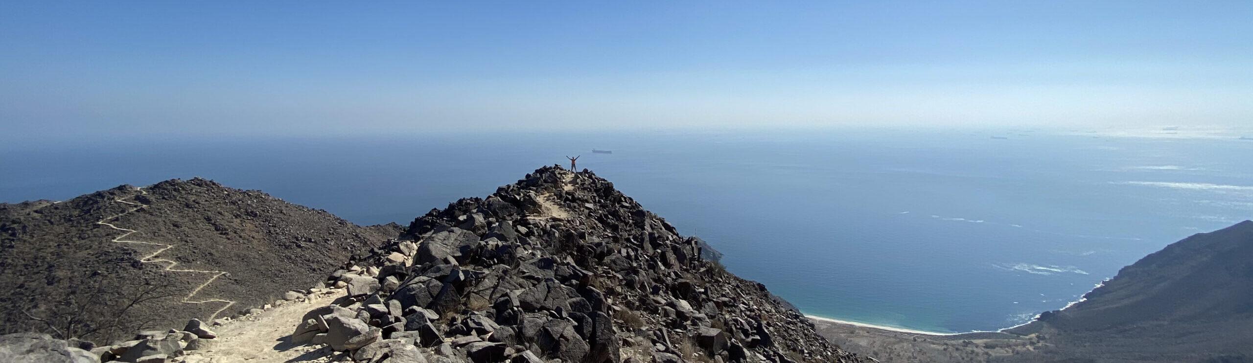 Rabi Tower – The infamous hike of Khorfakkan