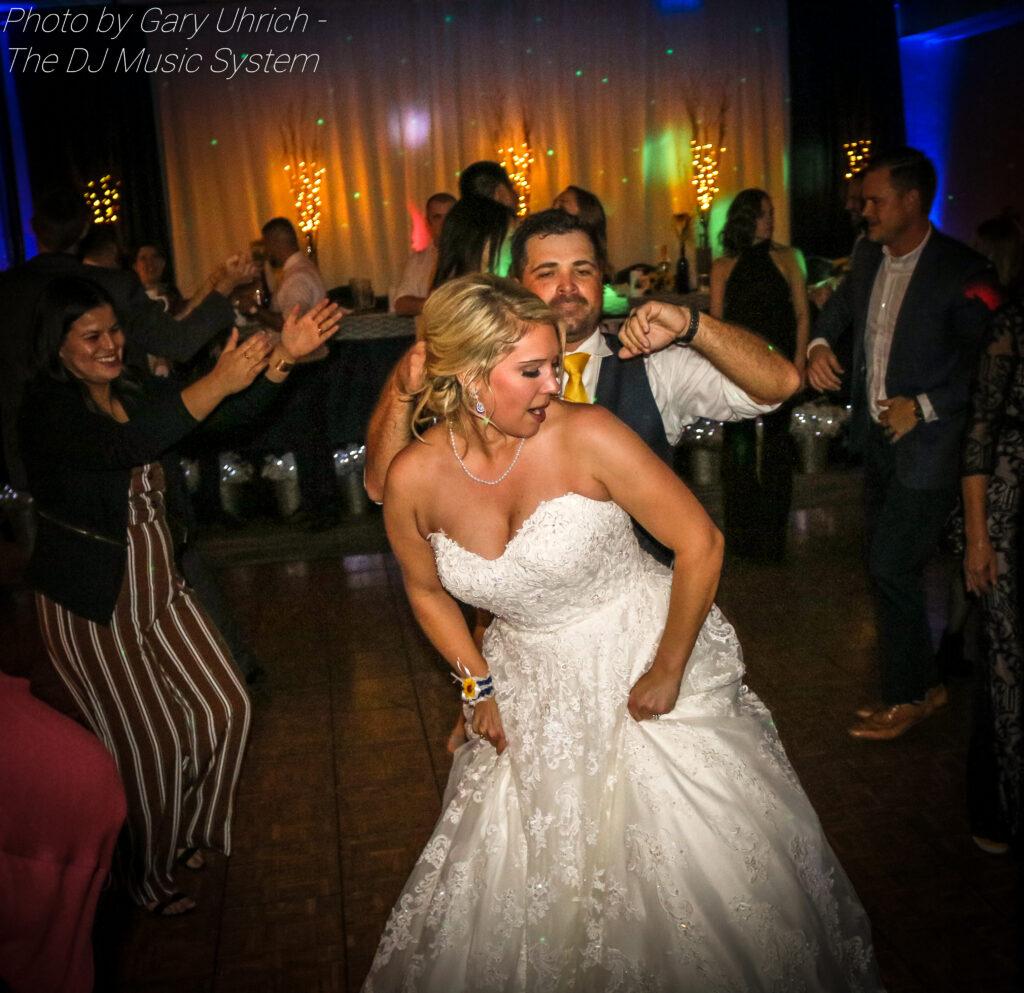 Bride Groom Dancing Hampton Inn