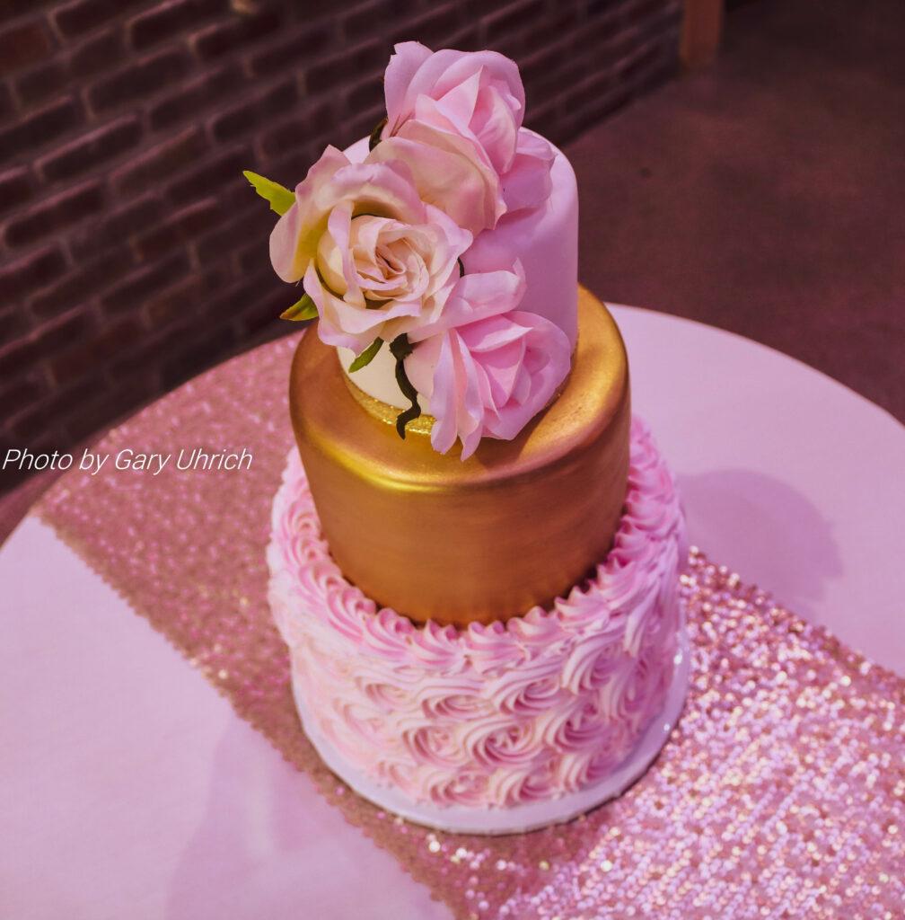 Wedding Cake Sugar Diamond