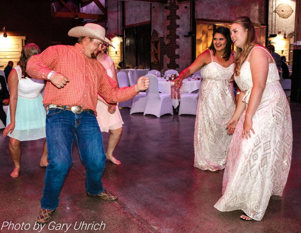 Bridesmaids Guests Dancing