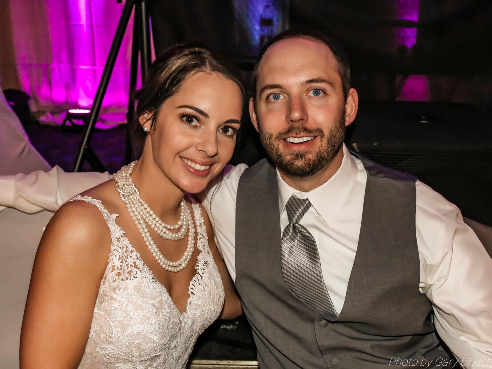 The DJ Music System, Scottsbluff, Nebraska, Wedding DJ Service, Gary Uhrich, Bride and Groom, Wedding Venue, Wedding Dress, Tuxedo