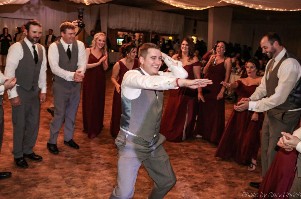 The DJ Music System, Scottsbluff, Nebraska, Wedding DJ Service, Gary Uhrich, Bride and Groom, Wedding Venue