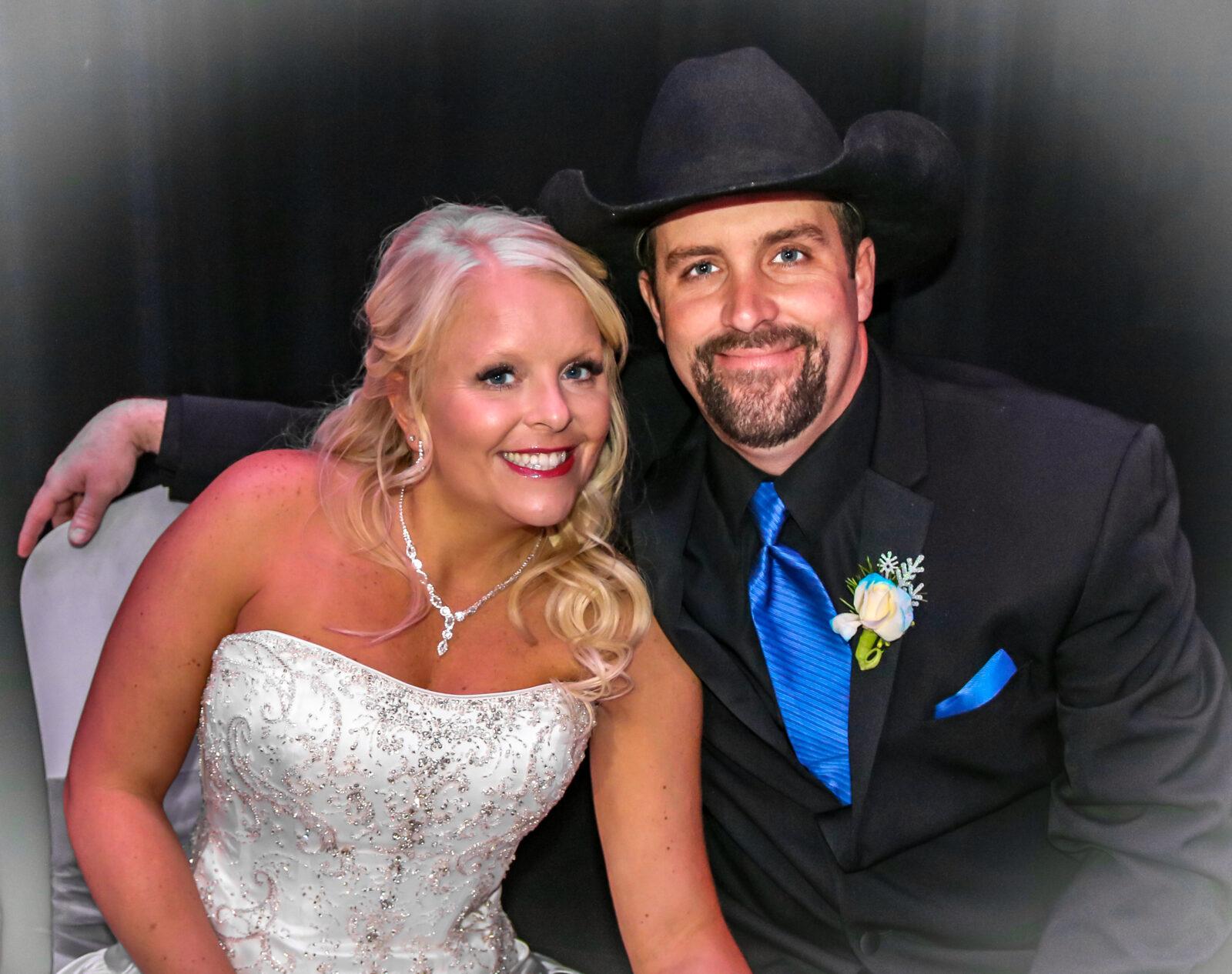 Bride, Groom, Wedding Dress, Tuxedo, Rustin Wedding, Happy Couple, Wedding DJ Service, Ceremony, Reception, Gering, Scottsbluff, NE, Wedding Venue