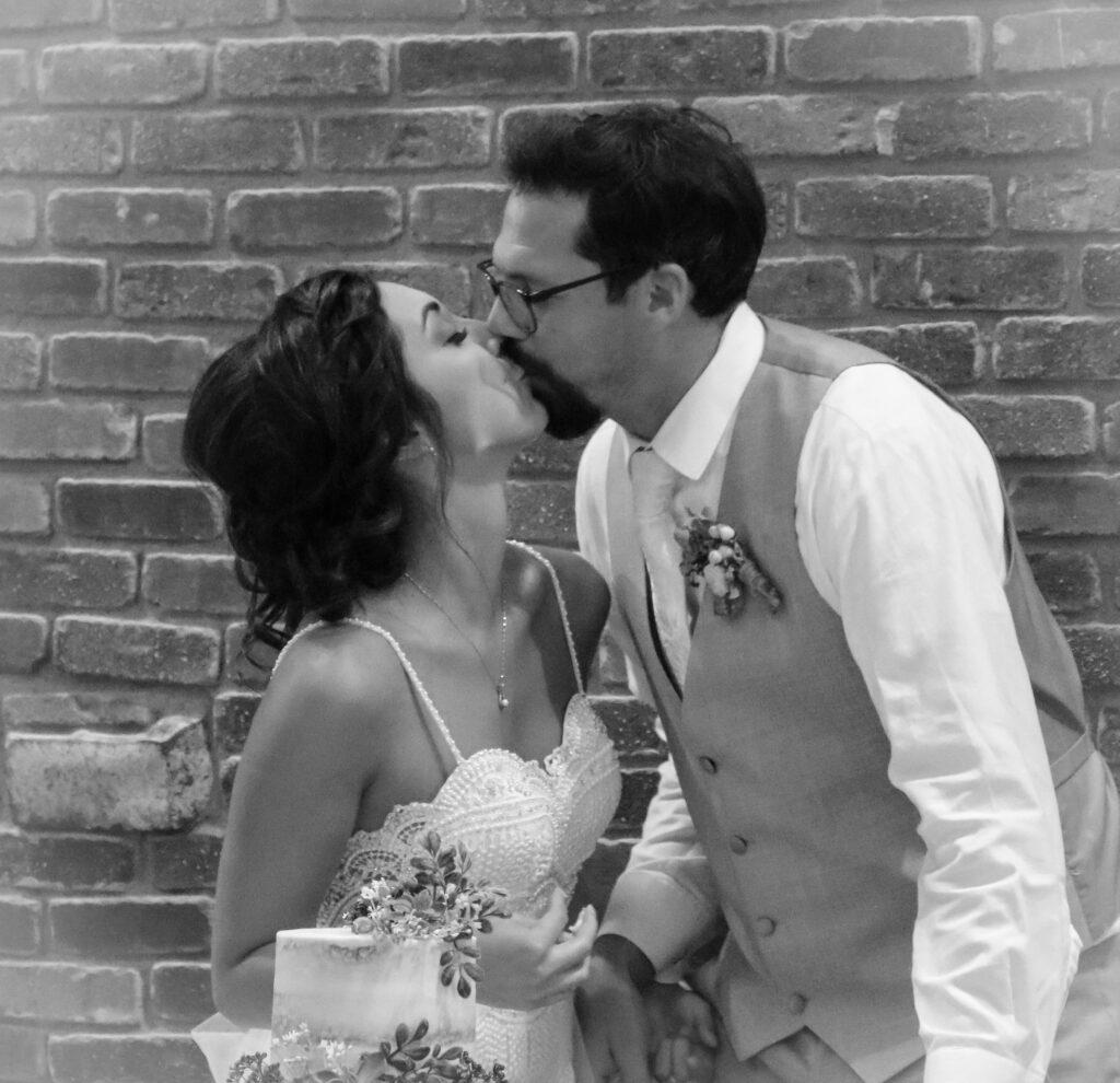 Wedding Kiss Cake Venue Gering Nebraska The DJ Music System Scottsbluff Nebraska