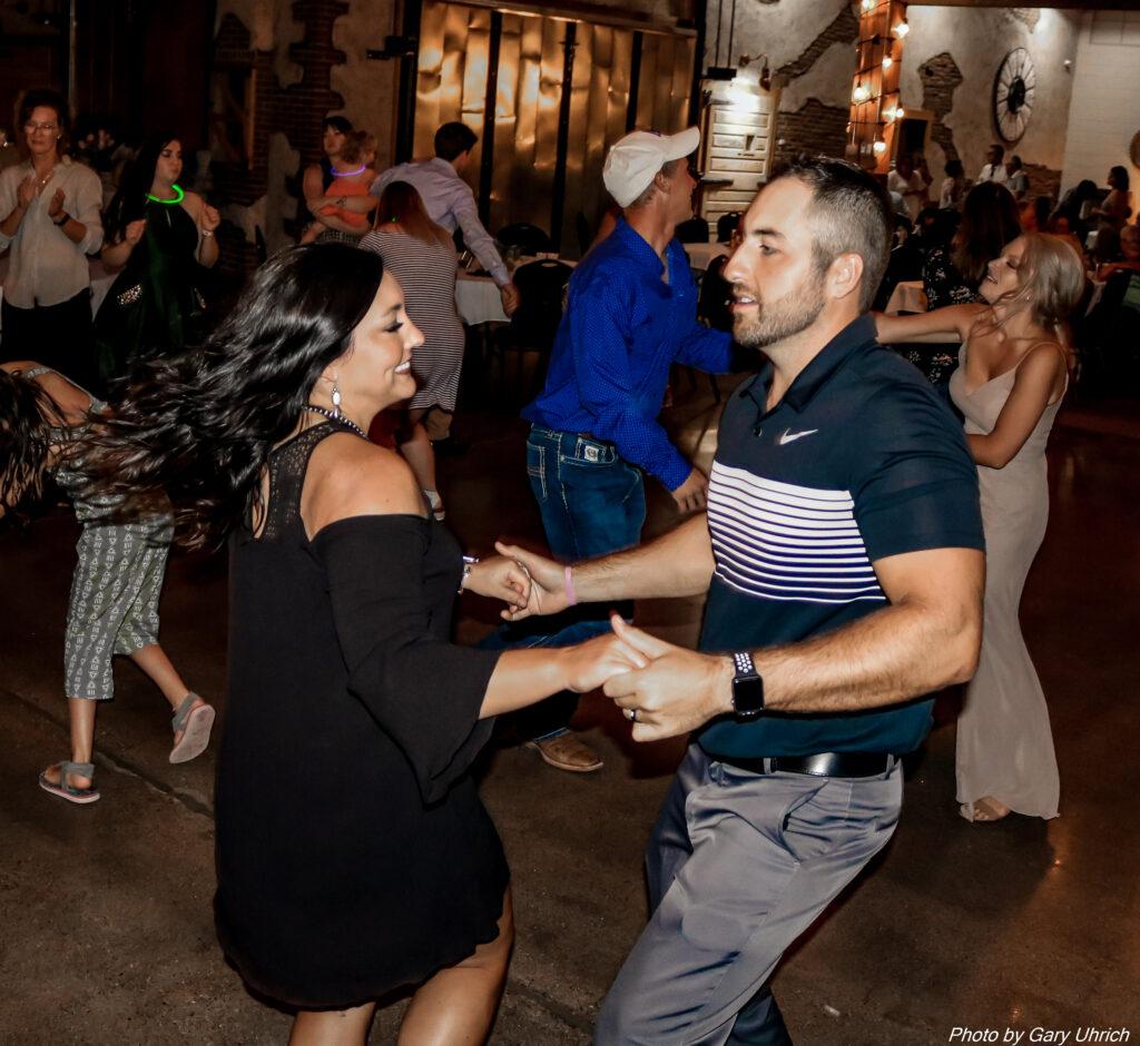 Reception Dance Moment