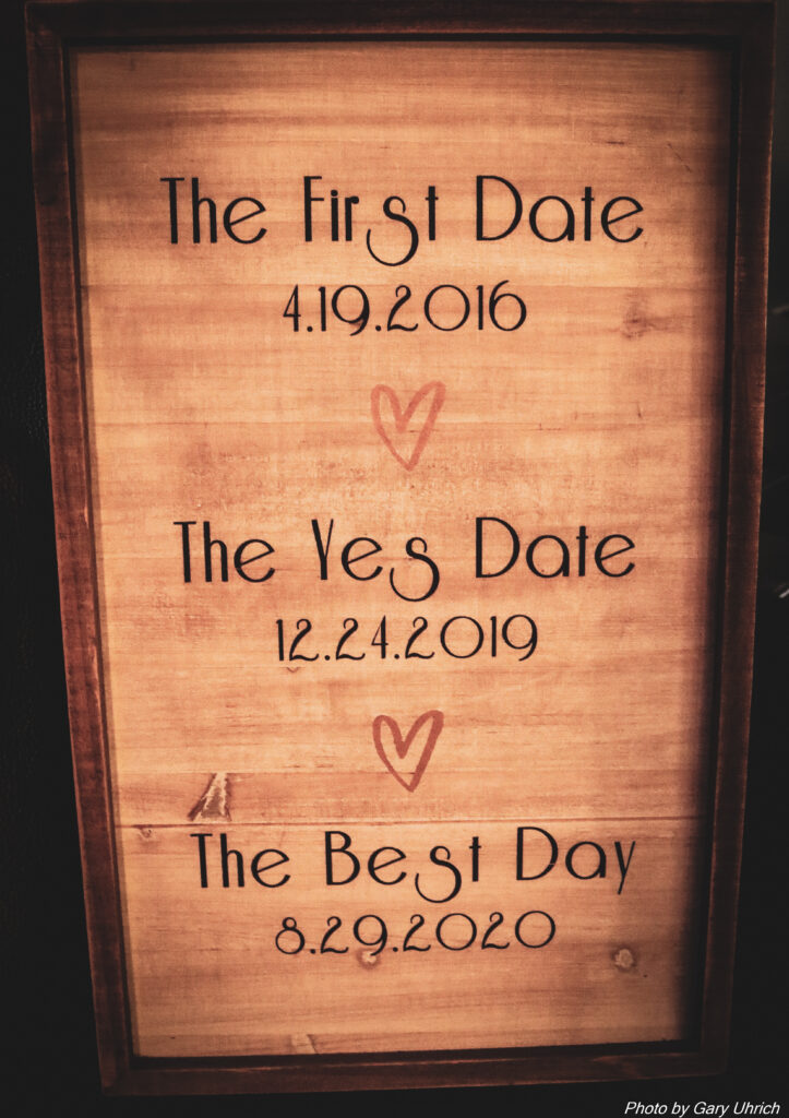 First Date, Yes Date, Best Day Sign