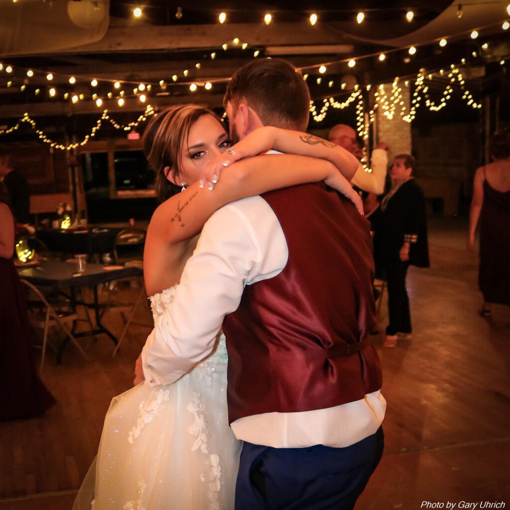 Miranda Matthew Wedding The DJ Music System Gary Uhrich Nebraska Wedding DJ 19-0390