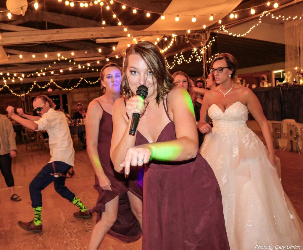 Miranda Matthew Wedding The DJ Music System Gary Uhrich Nebraska Wedding DJ 29a