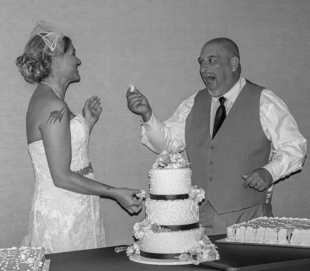 Bride Groom Wedding Cake