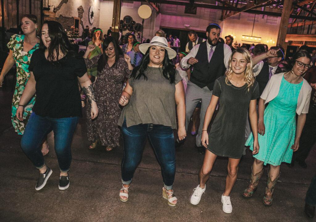 Kayla Cody Wedding Dancing