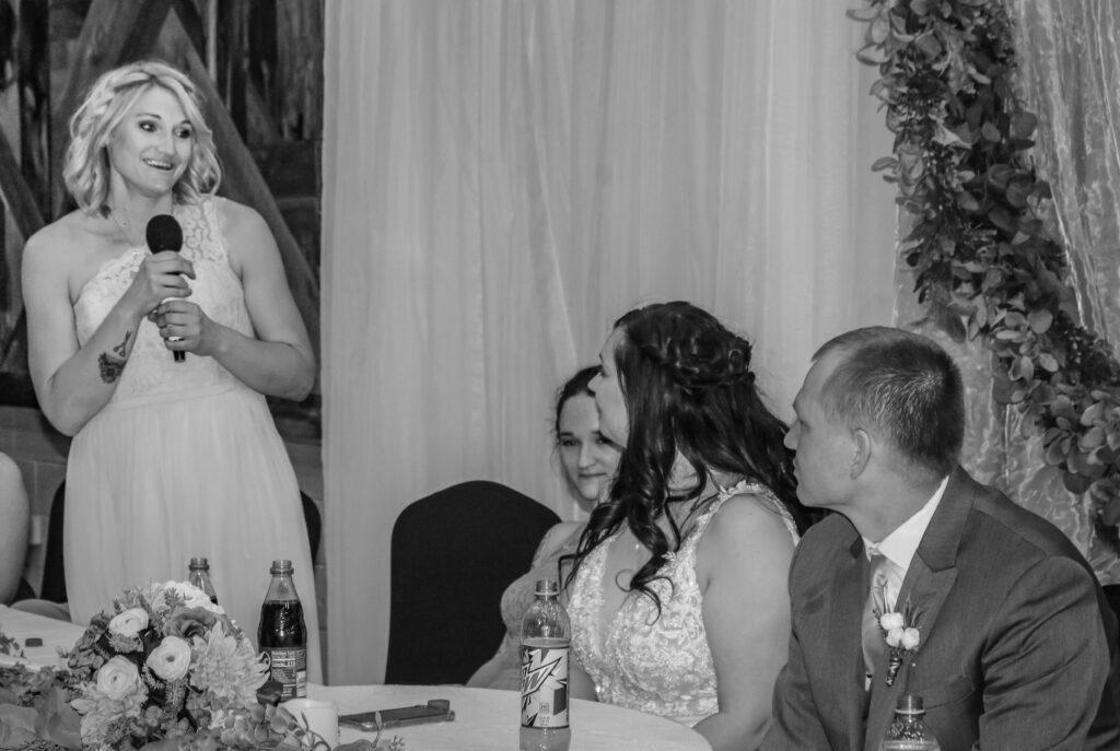 Kayla Cody Wedding DJ Nebraska Toasts