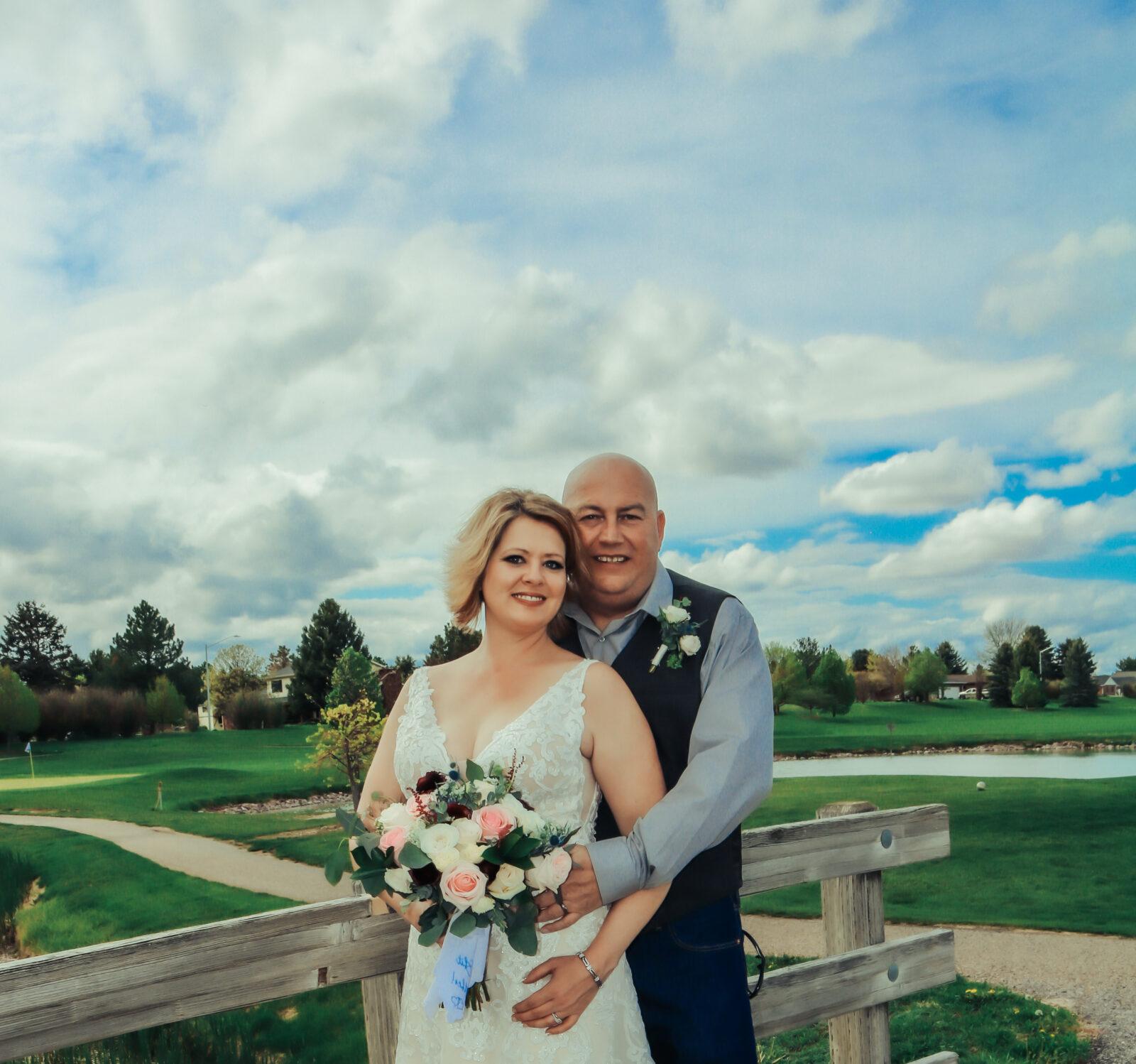 Krystal Steve Wedding Monument Shadows Golf Course Gering Nebraska