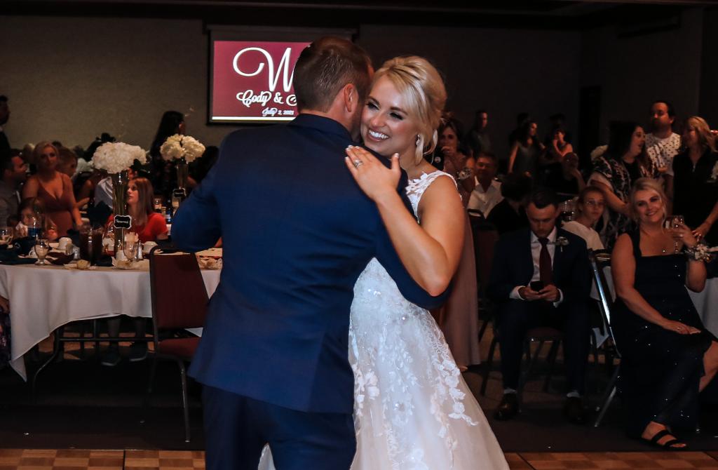 Wedding Reception First Dance Gering Nebraska