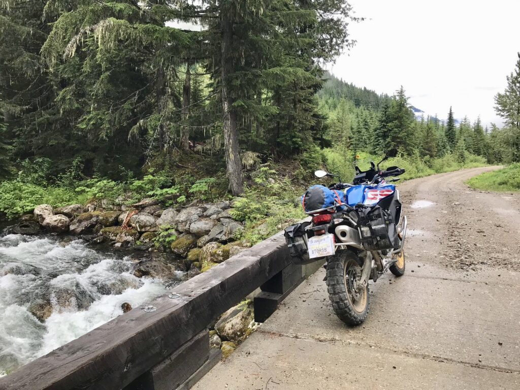"Our 850GS in it's ""natural habitat""!"