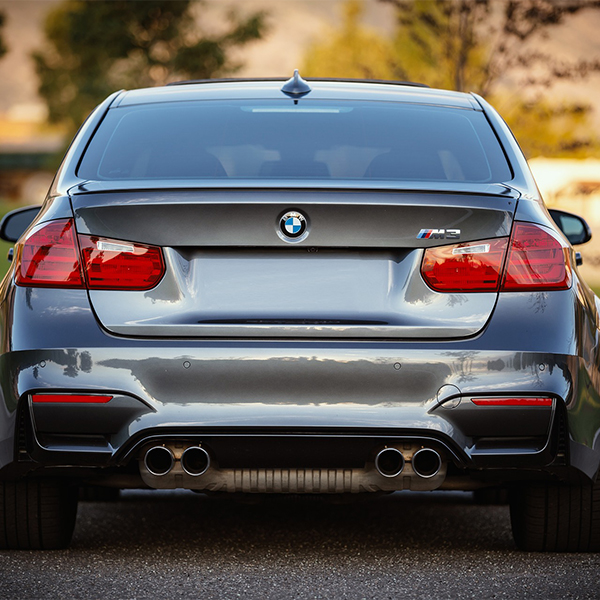 Back of a BMW