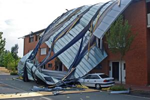 Tornado Roof Damage