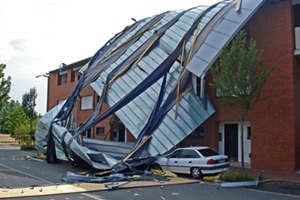 Tornado Roof Damage