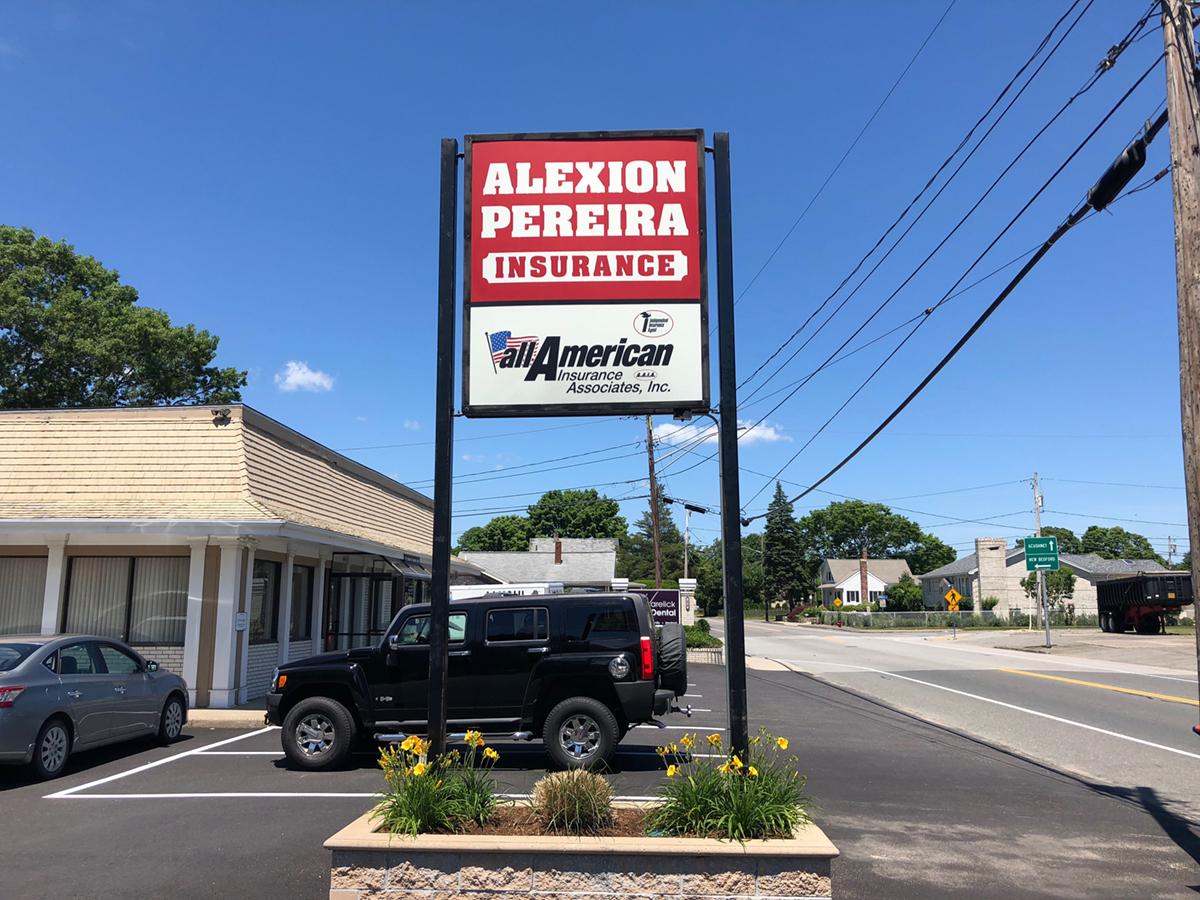 AP Insurance Office Sign