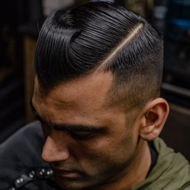 Side Parting Cut