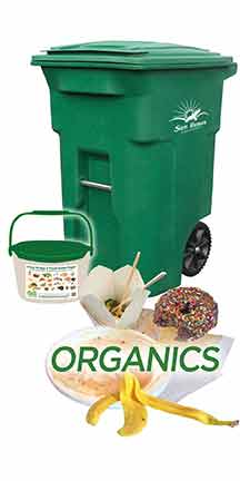 proper sorting of organic materials
