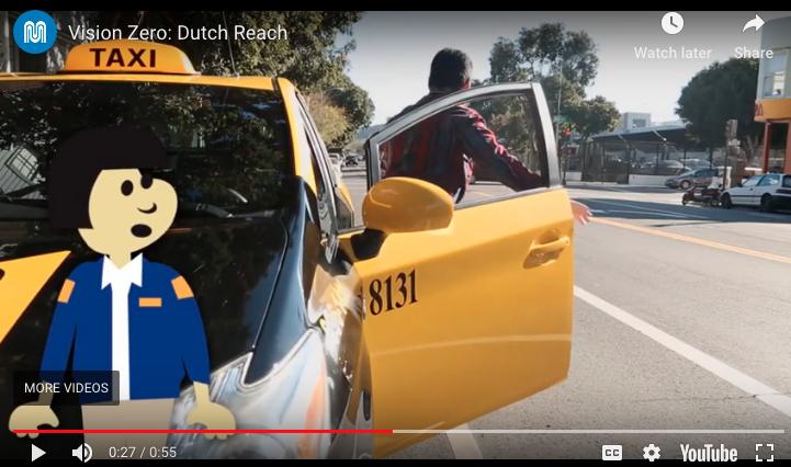 NEWS : Don't Get the Door, Get the Dutch Reach