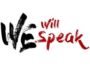 We Will Speak logo