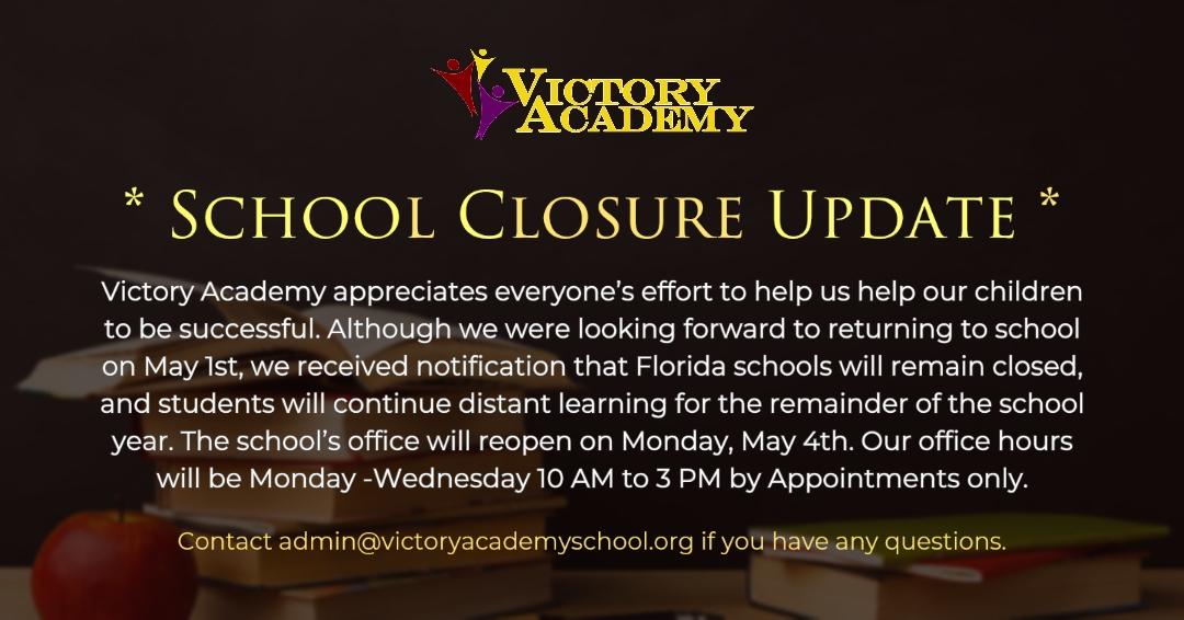 PSA: School Closure Update