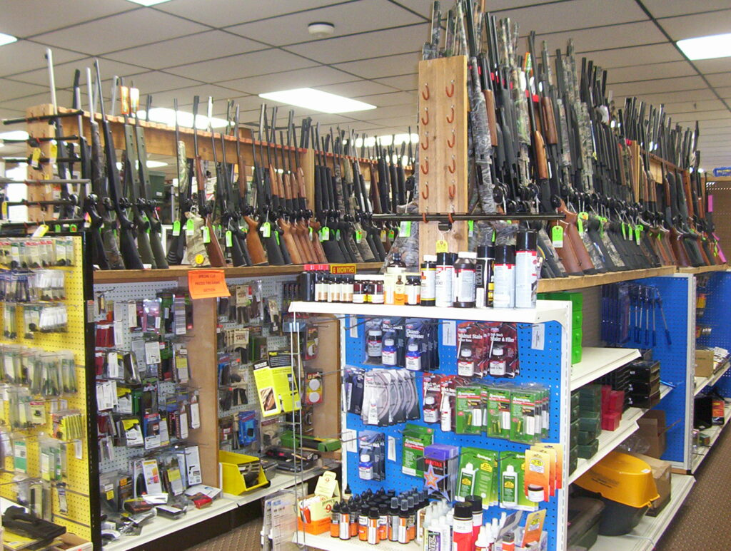 Firearms and Gun Cleaning Supplies