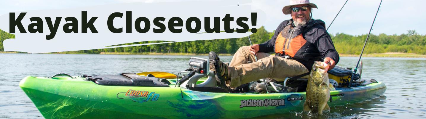 Kayak Closeouts