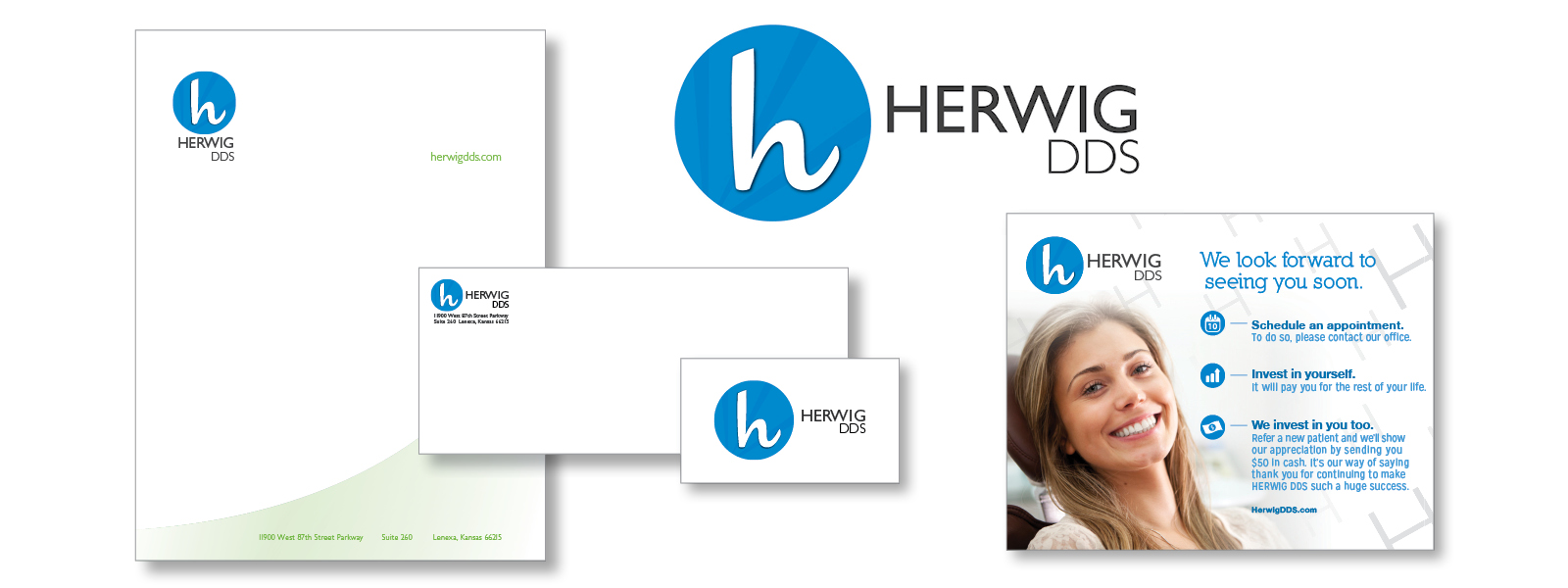 Sturges Word - Brand Identity for Herwig DDS