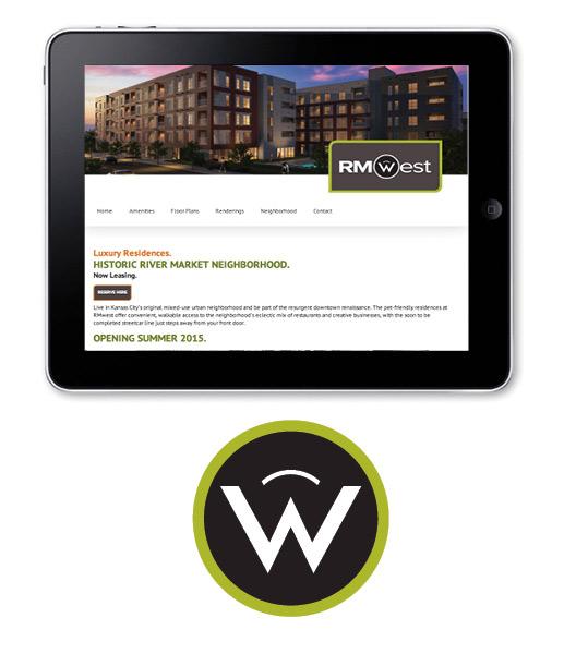 SW Client - RMWest - website and logo design