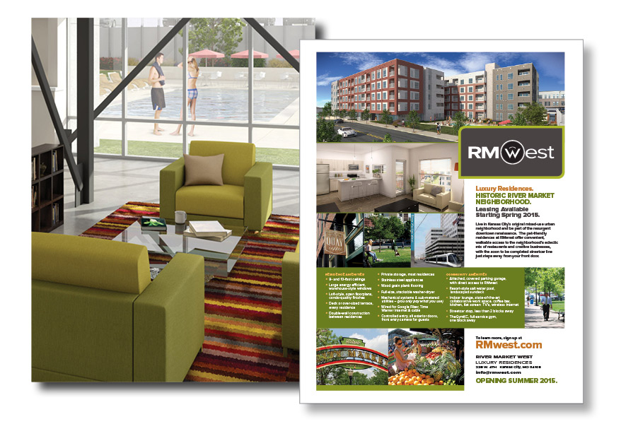 SW Client - RMWest - Marketing Flyer -SERVICES INCLUDED: BRANDING • DESIGN • DIGITAL