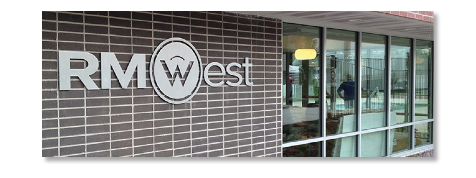 Sturges Word Client RMWest Signage - Logo Design -SERVICES INCLUDED: BRANDING • DESIGN • DIGITAL