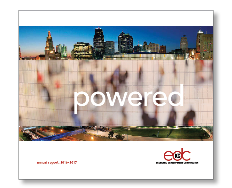 SW Client - EDC - Annual Report SERVICES INCLUDED: BRANDING • STRATEGIC PLANNING • PUBLIC RELATIONS • DESIGN • DIGITAL