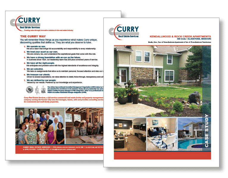 Curry Real Estate Services Market Materials
