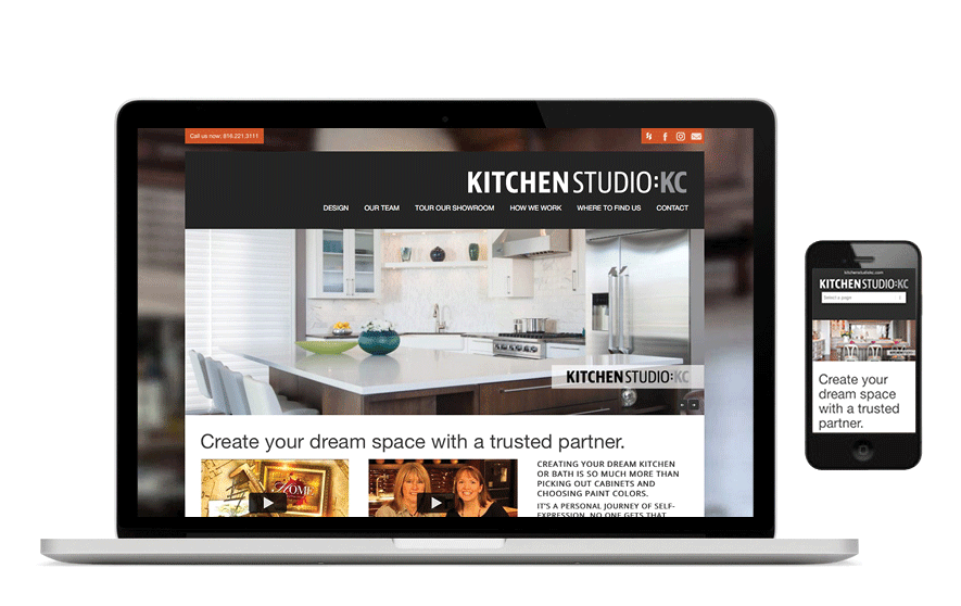 SW Client - Kitchen Studio Kansas City Website