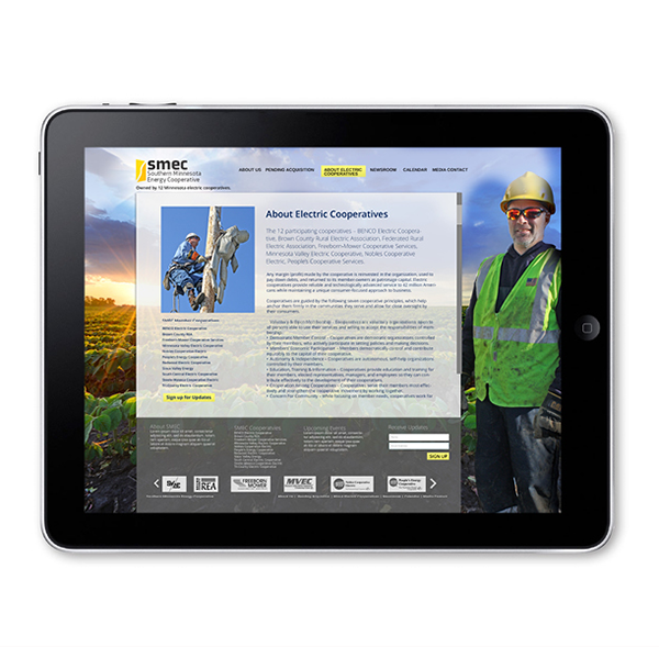 SW Client - Energy Cooperative WEBSITE