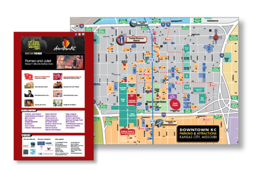 Sturges Word Client - The Downtown Council of Kansas City - Marketing Material
