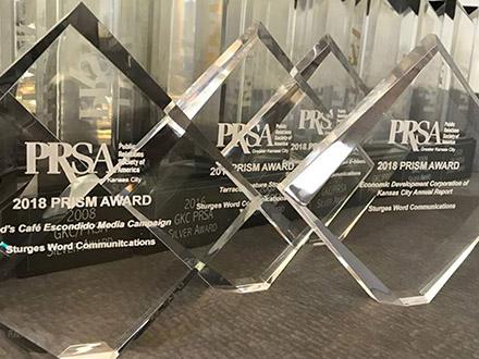 Sturges Word Communications Wins Four PRISM