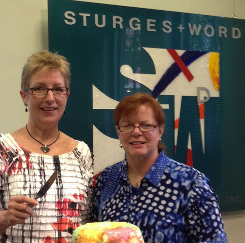 Sturges Word Communications 25th anniversary