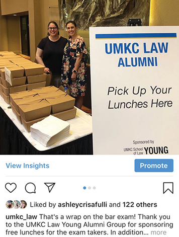 University of Missouri-Kansas City School of Law - social media strategy