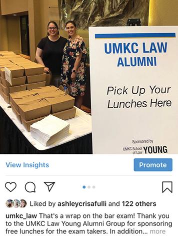 University of Missouri-Kansas City School of Law - social media strategy