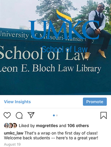 University of Missouri-Kansas City School of Law - Social Media Engagement Plan
