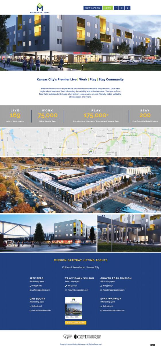 Mission Gateway Website