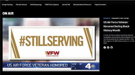 Sturges Word Client – Sturges Word Client – Veterans of Foreign Wars SW Services: Media Relations